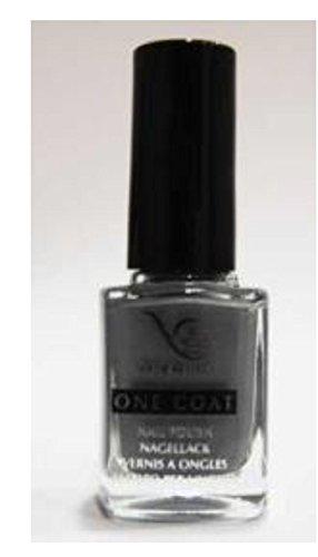 Vernis à ongles gris argente