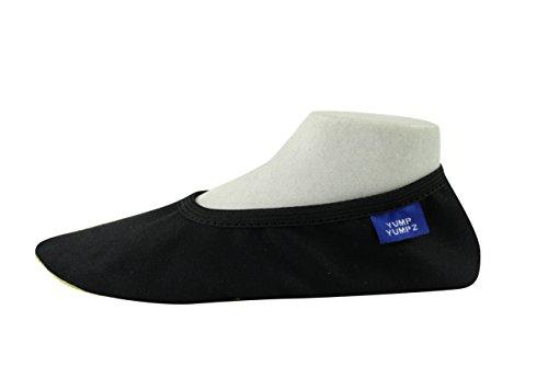 da Sala Nero Sport Scarpe Flats–in BIANCO–Scarpe balletto ppchen misure schlae cotone–yump diverse Turn yumpz Essentials ginnastica in Soft 9NERO U6Pxqtt