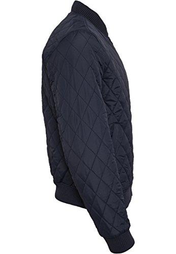 URBAN CLASSICS - Diamond Quilt Nylon Jacket (navy) Navy