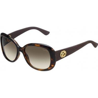 Gucci 3787S LWF Dark Havana 3787S Butterfly Sunglasses Lens Category 2