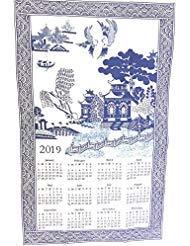 Findet und Einrichtungen Blue Willow 2019Küche Geschirrtuch Kalender Geschirrtuch von Blue Willow