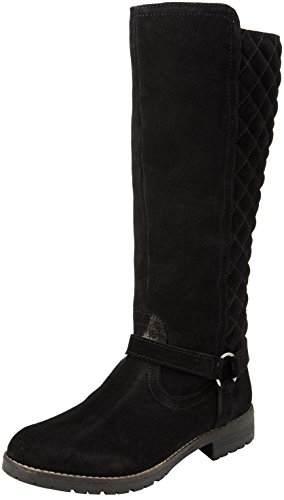 Lotus Women's Bayberry Long Boots, Black (Blk Sde), 3 UK 36 EU