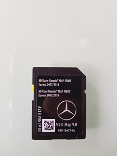 Karte SD GPS Mercedes (Star1) Garmin Map Pilot Europa - C-map