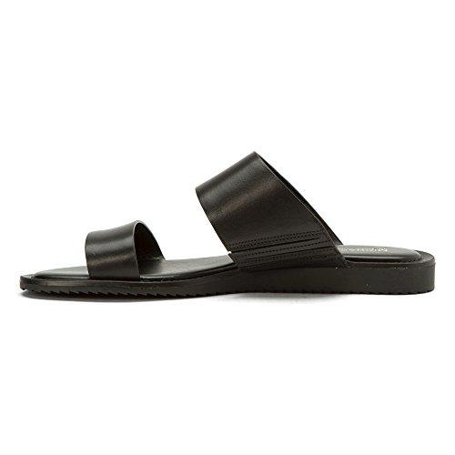 Michael Kors Michael Millie Slide Sandals Black