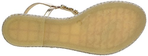 Stonefly Lux 1, Sandales Bout Ouvert Femme Or (Oro 500)