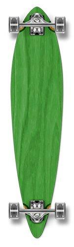 Blanco Yocaher gráfica y completa patineta Longboard Pintail w/71 mm...
