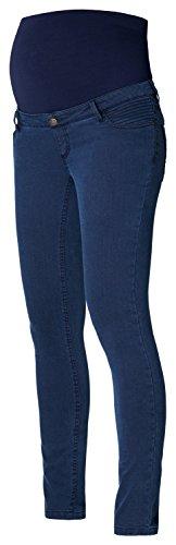 Esprit Maternity Pants Otb Slim - Pantalon de Maternité - Slim - Femme Bleu - Blau (Night Blue 846)