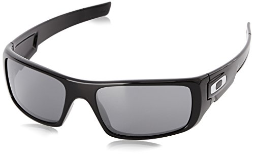 Oakley Herren Crankshaft Sonnenbrille, Polished Black Iridium, 60