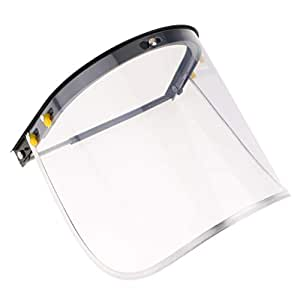 CLEAR FLIP UP FACE SHIELD New goggle mask glasses