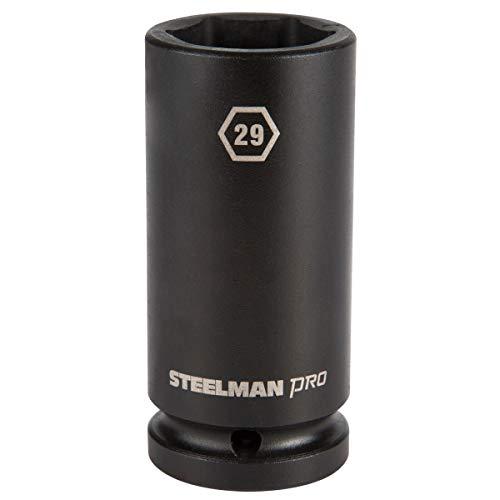 STEELMAN PRO 79282 3/4-Inch Drive x 29mm 6-Point Deep Impact Socket -
