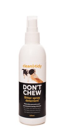 Sharples and Grant Clean & Tidy Don't Chew Bitter Deterrent Spray 125ml