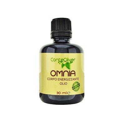 OMNIA 30 ml olio corpo energezzante con olio essenziali di limone, galbano,...
