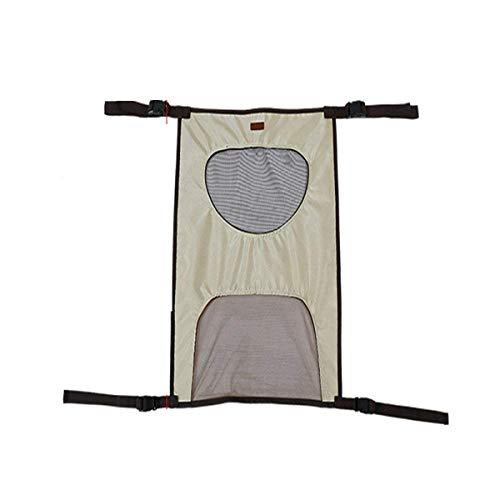 Jinxuny Hundeabsperrung für den Rücksitz, verstellbar, für Hunde, Katzen, Hindernisse, Sitz, Zaun für Auto, SUV, LKW, Auto, beige