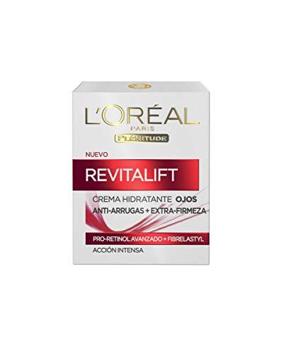 L'Oreal Paris Dermo Expertise – Revitalift contorno de ojos antiarrugas con Pro-Retinol, 15 ml