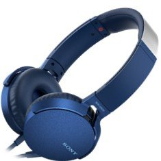 Sony MDR-XB550AP Kopfhörer (Extrabass, Mikrofon) blau