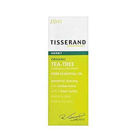 Tisserand Tea Tree Organic Pure Essential Oil 20ml