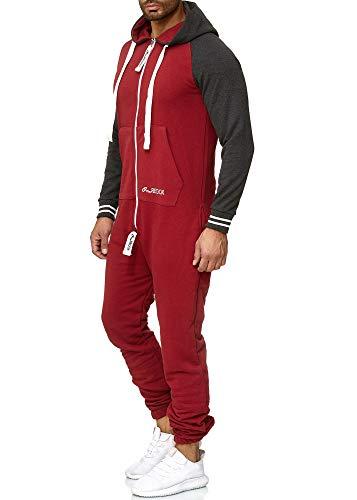 OneRedox Herren Trainingsanzug Unisex Jogger Jumpsuit Jogging Anzug Overall  Einteiler Modell 1273 8ade580b68