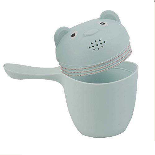 Isuper baby bath toy cartoon bathing cup for babies and toddlers baby watering can pink good helper for an amusing bath