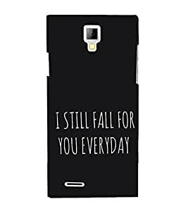 Love Quote 3D Hard Polycarbonate Designer Back Case Cover for Micromax Canvas Xpress A99 :: Micromax A99 Canvas Xpress