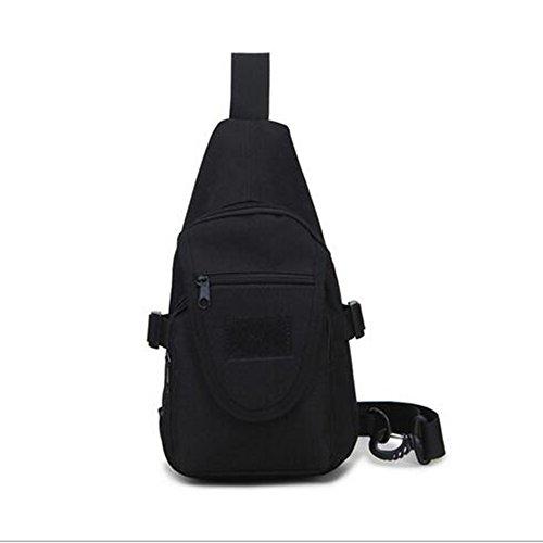 LS Im Freien Oxford Tuch Camouflage Brusttasche Herren Schulter Messenger Bag Herren Nylon Tasche Tragbaren Kleinen Kreuz Rucksack Frauen - Camouflage Nylon-schulter-bag