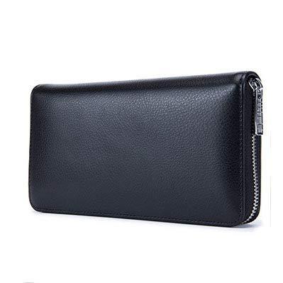 a5d5ebc028b Suvelle Mens Thin RFID Blocking Slim Leather Card Holder Minimalist ...