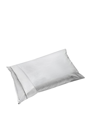 Ipersan Funda de Almohada con Cremallera cm. 52x83 Blanco Impermeable, traspirable, antialergico