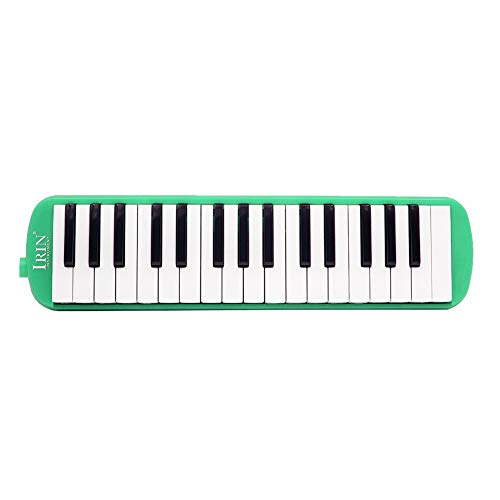 Achidistviq 32key piano style melodica bocca organo armonica strumento musicale fisarmonica per bambini di età green