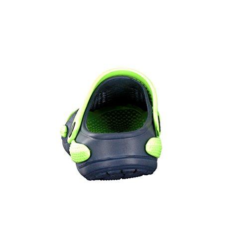 brandsseller, Zoccoli bambine Blu marino/verde