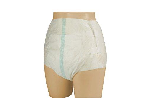 VIDIMA Windeln für Erwachsene mit Klebestreifen für leichte/mittlere Inkontinenz, Erwachsenenwindeln (XL - 72 Stück)