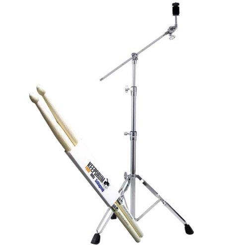 Pearl BC-830 Cymbal Galgen-Beckenständer + KEEPDRUM Drumsticks Gratis!
