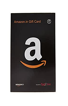 Amazon.in Gift Card - Rs.10000 (Black) (Paper)