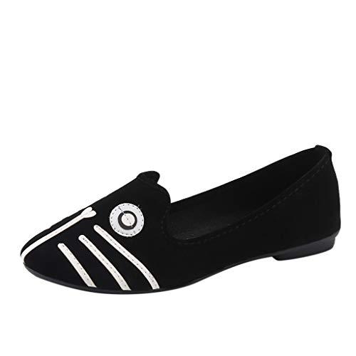 Damen Mokassin Bootsschuhe Leder Loafers Fahren Flache Schuhe Halbschuhe Tierdruck Slippers Erbsenschuhe Klassische Übergrößen Hochzeit Abiball Flandell