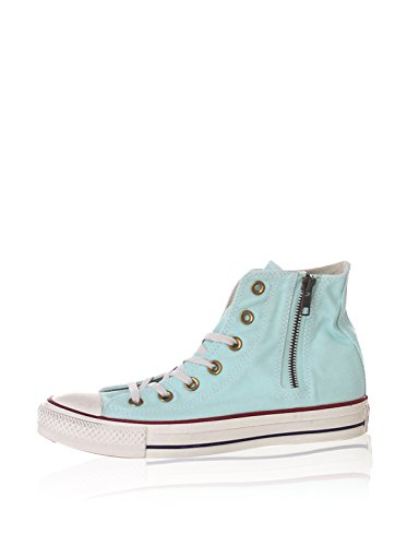 CONVERSE 143761C foam scarpe donna all star hi side zip canvas Blu