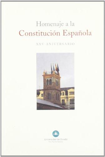 Homenaje a la Constitución Española. XXV aniversario