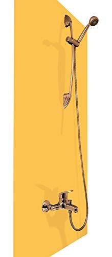andverkleidung aus hochwertigem PVC, gelb, Alternative zu Aluverbund Platten, verschiedenen Farben, 200 x 100 cm ()