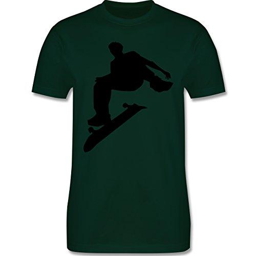 Sonstige Sportarten - Skater - Herren Premium T-Shirt Dunkelgrün