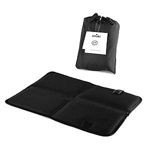 Outdoor Sitzkissen | Thermo Sitzkissen mit praktischer Tasche | Alu Isomatte, Faltbar, Leicht, klein, Isoliert…
