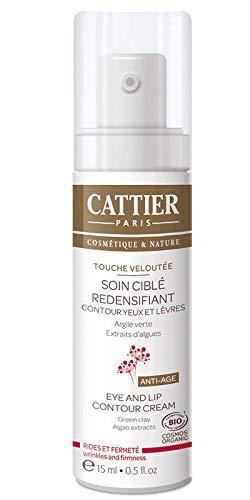 Cattier Touche Veloutée Soin Ciblé Redensifiant Contour Yeux et Lèvres 15 ml