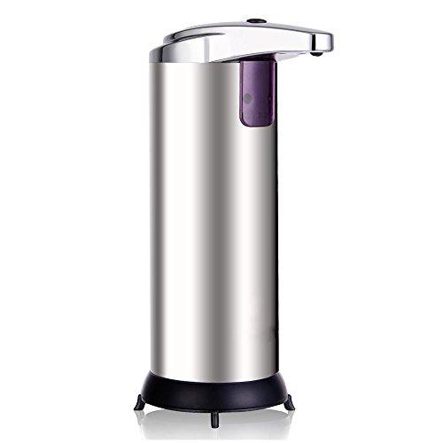 Dispensador automático de Jabón Líquido de Acero Inoxidable