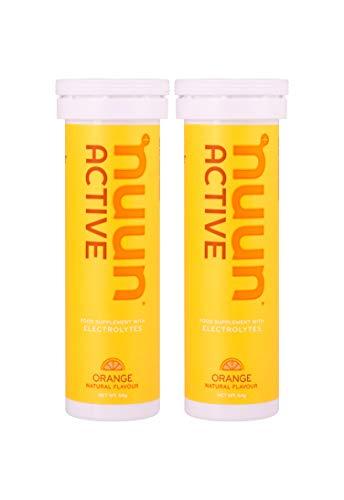 nuun hydration Sport For Exercise isotonisches Getränk mit Elektrolyte |Brausetabletten 10 Tabs für 10 x 500 ml Getränk Orange, 1er Pack (1 x 55 g) (Tabs Nuun)
