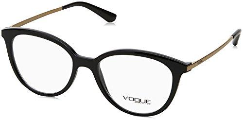 Vogue - VO 5151,Rund Propionat Damenbrillen, Black, 51