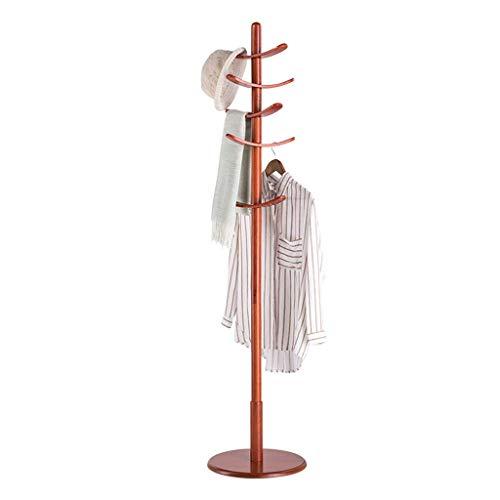 Appendiabiti cappello da terra e appendiabiti appendiabiti a cappello albero appendiabiti in legno massello camera da letto creative home single pole (colore : a)