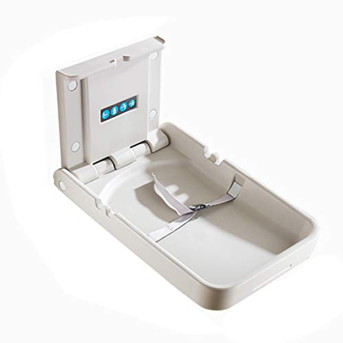 QZ® Baby Changing Station Wall Mount for Nursery Restroom, Folding Infant Dresser, White Granite (Size : Style-5) qiangzi