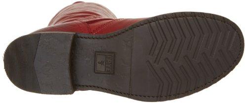 Frye Veronica Slouch, Damen Stiefel Burnt Red Soft Vintage Leather-76602