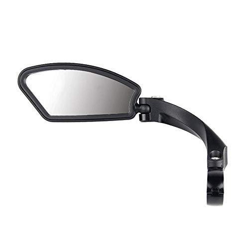 AUOKER Fahrradspiegel aus Edelstahl, für Lenker, sicherer Rückspiegel, 360 Grad Vollwinkel, robust und langlebig, Links/rechts