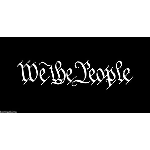 (2x) We the People-Adesivo,