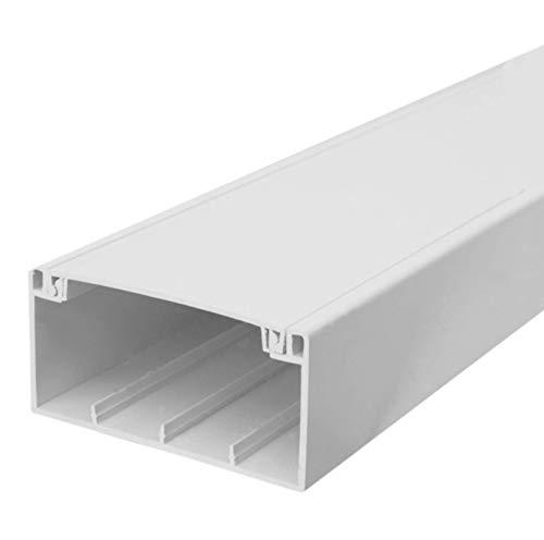 SCOS Smartcosat Brüstungskanal und Zubehör L x B x H 2000 x 100 x 50 mm Reinweiß (4 m)