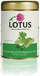 EIGHT PETALLED LOTUS Lotus Herbal Good Health Herbal Tea (50 Grams)