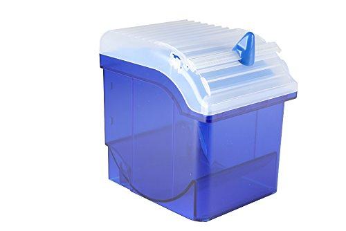 Moonlab-4-0081 Parafilm M-Spender und Cutter, breite, ABS, 5-10 cm, Blau