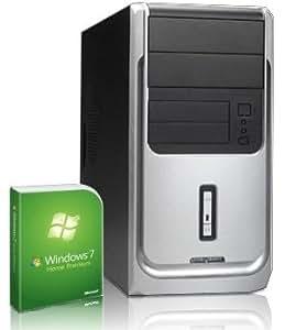Sehr leiser PC! 2x 3400 MHz   AMD Phenom II X2 511   320GB S-ATA HDD   4GB DDR3 RAM   1024MB Radeon HD 3000   22x DVD-Brenner   5.1 Sound   LAN   Windows7 Home Premium 64   Office2010 Starter mit Word+Excel   Avira AntiVirus 2013   #4436